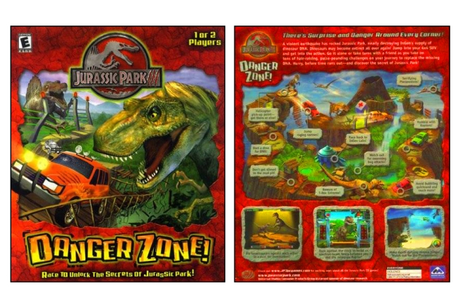 Danger Zone Box Front and Back