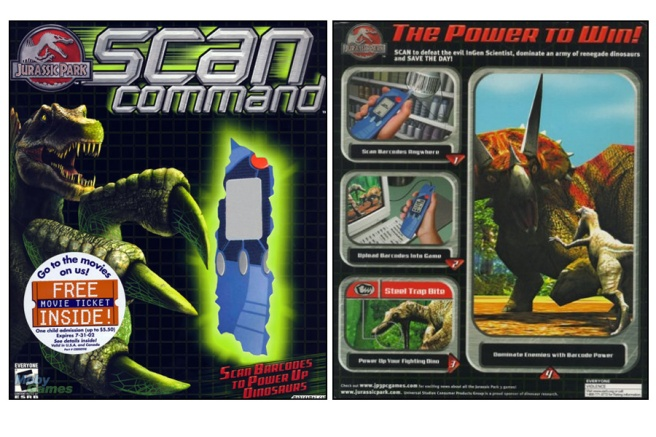 Scan Command Box Front and Back